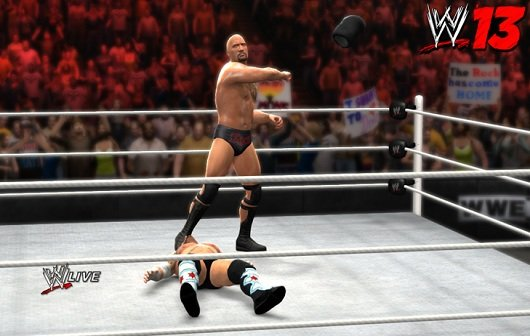 WWE '13: The Rock als Star des neuen Trailers