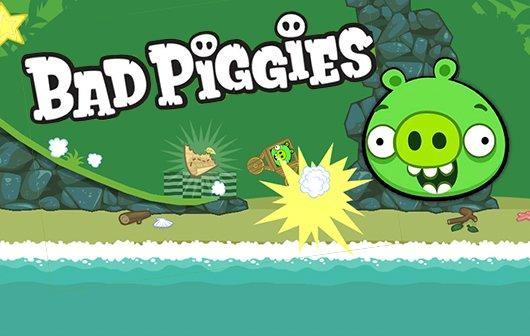 Bad Piggies für iOS und Mac: Neuer Hit von den Angry-Birds-Machern