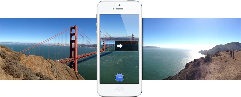 iOS 6 Panorama-Funktion für iPhone 5, iPhone 4S und iPod touch 5
