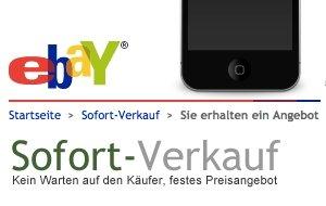 eBay Sofort-Verkauf: iPhone-Bestpreise