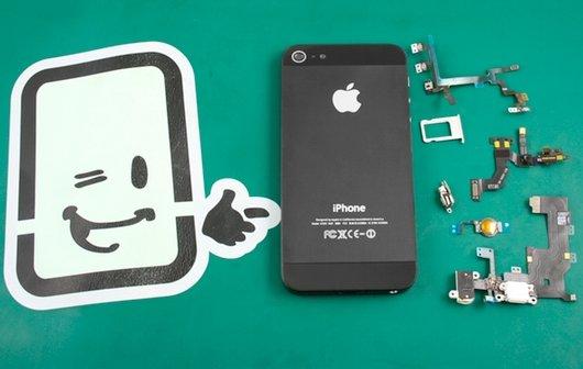 iPhone 5: Ersatzteile beim Reparatur-Service Fixxoo entdeckt