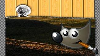 GIMP: Hintergrund transparent machen, ändern oder entfernen