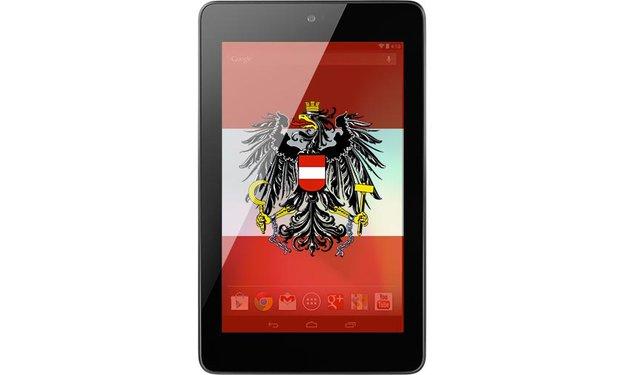 Google Nexus 7: Jetzt auch in Österreich