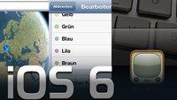 iOS 6: Tipps und Tricks für iPhone, iPod touch und iPad