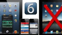 iOS 6: Kompatibilität mit älteren iPhone-, iPad- und iPod-Modellen (Update)