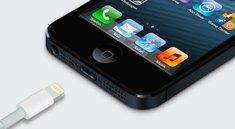 iPhone 5: Handbuch lässt auf Dock mit Lightning-Anschluss hoffen