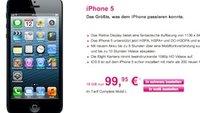 iPhone 5 vorbestellen: Mit Vertrag 1 Euro, ohne Vertrag 679 Euro