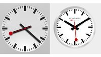 iOS 6: Apple klaut Uhren-Design bei Schweizerischen Bundesbahnen