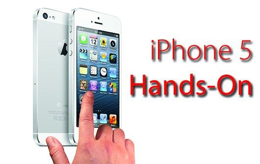 iPhone 5 im Hands-On: Schneller, dünner, leichter