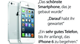 iPhone 5: Erste Tests preisen Apples Neuling