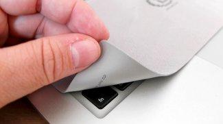 iSaver2: Schutz- und Reinigungstuch fürs MacBook im Test (Gewinnspiel-Update)