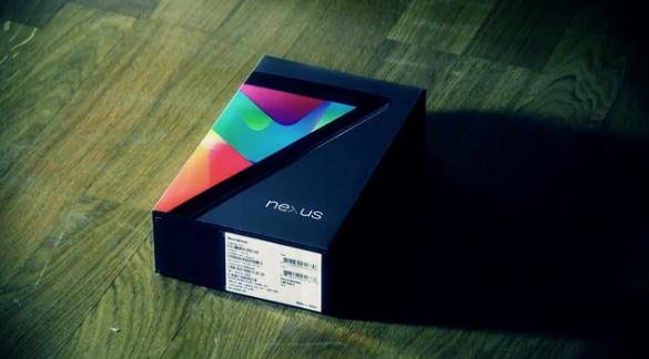 Google Nexus 7 Un-Unboxing