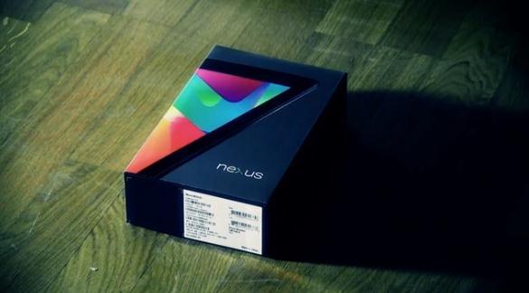 Google Nexus 7 Un-Unboxing