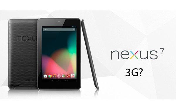 Gerücht: Gibt es bald eine 3G Version des Google Nexus 7?