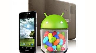 ASUS Padfone und Transformer Prime erhalten Jelly Bean