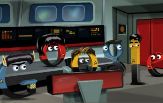 Star Trek Original Series: So funktioniert das Google Doodle