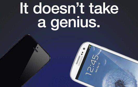 Samsung: Werbung vergleicht iPhone 5 mit Galaxy S III