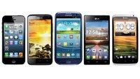 5 der besten Smartphones im Vergleich