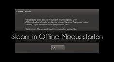 Steam: Offline-Modus starten (ohne Internetverbindung) – so geht's