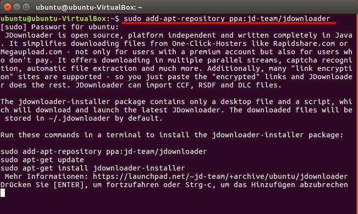 JDownloader in Linux installieren – so geht's
