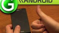 Sony Xperia T Unboxing und Kurzvergleich mit S3, Xperia S, Xperia Go