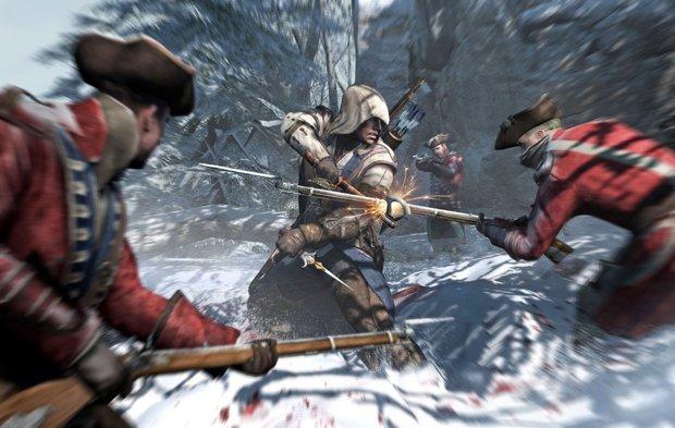Assassin's Creed 3: Erobert erwartungsgemäß die Verkaufscharts