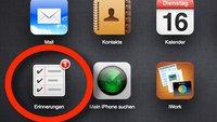 Tipp: Erinnerungen in iCloud anderen Nutzern freigeben