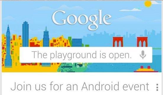Google lädt zum Android-Event ein