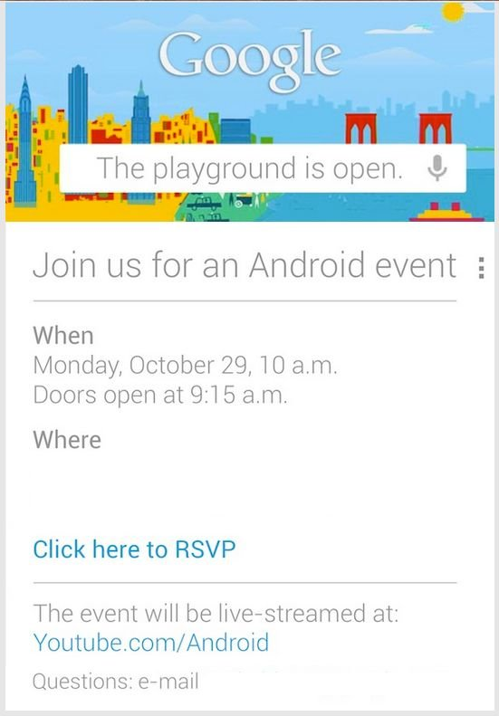 Google-Einladung