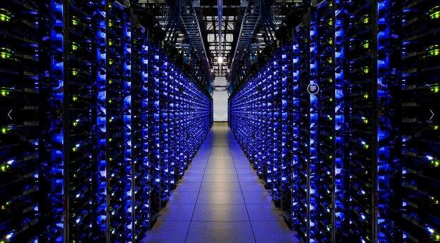 Feinster Datencenter-Porno: Googles Rechenzentrum in Bildern