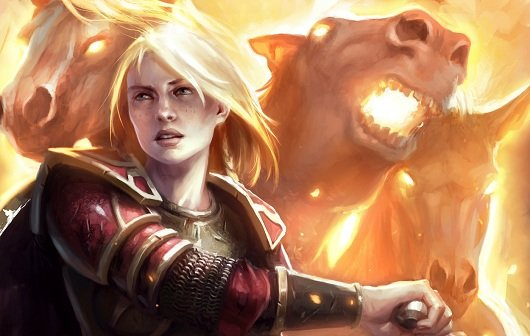 Guardians of Middle-Earth: Eowyn und Mozgog im Video