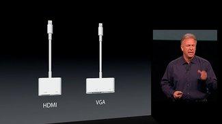 Lightning-Adapter für SD-Karten und USB können bestellt werden