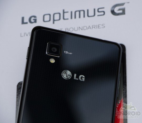 LG Optimus G - Unboxing und Hands-On