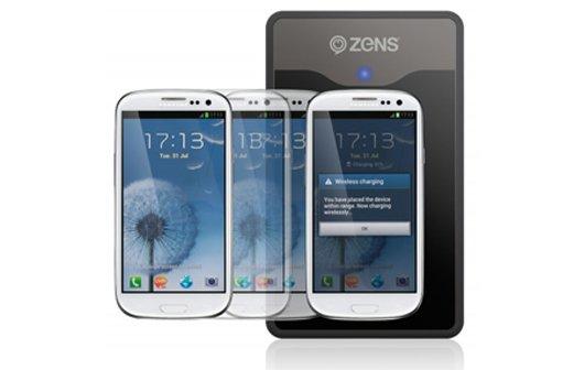 Induktion mit Samsung: Galaxy S3 und Note 2 kabellos laden