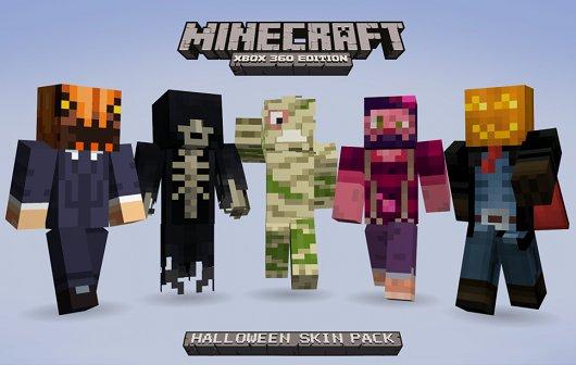 Minecraft - Xbox 360 Edition: Halloween Skins für den guten Zweck