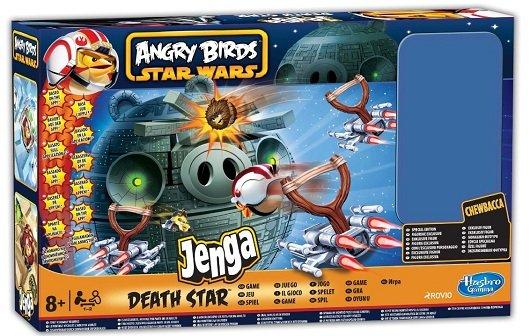 Angry Birds: Star Wars Crossover bringt Brettspiele