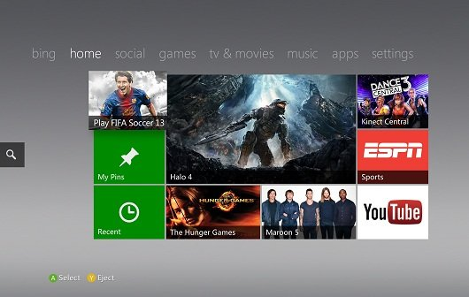 Xbox 360: Neue Entertainment-Apps im Anmarsch