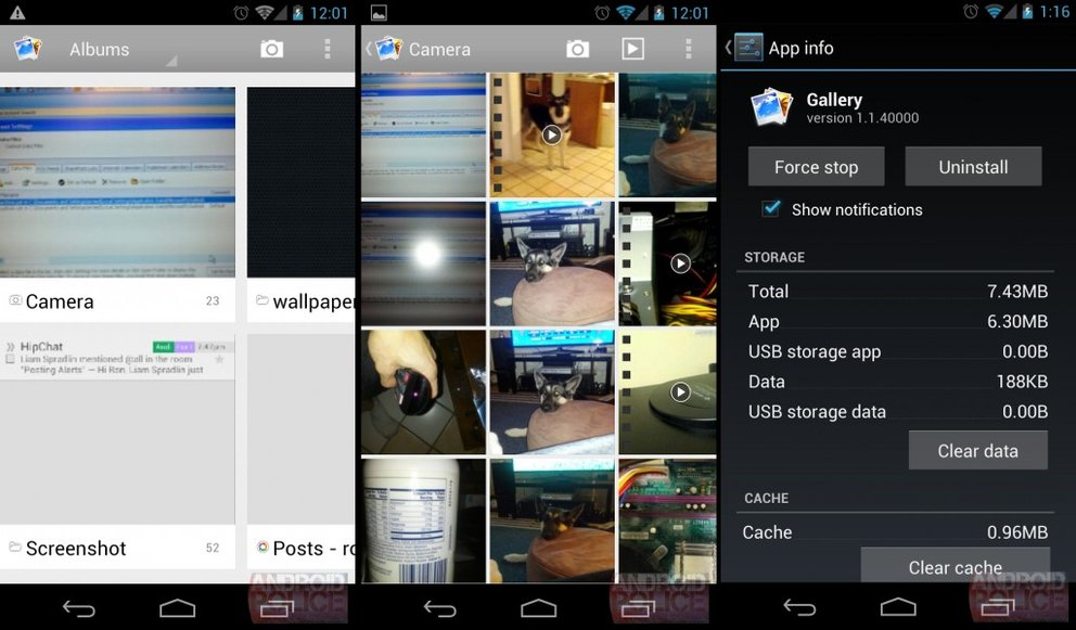 android 4.2 galerie app