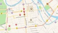 Apple Karten: Stau- und Verkehrsinfos in iOS 7 einschalten