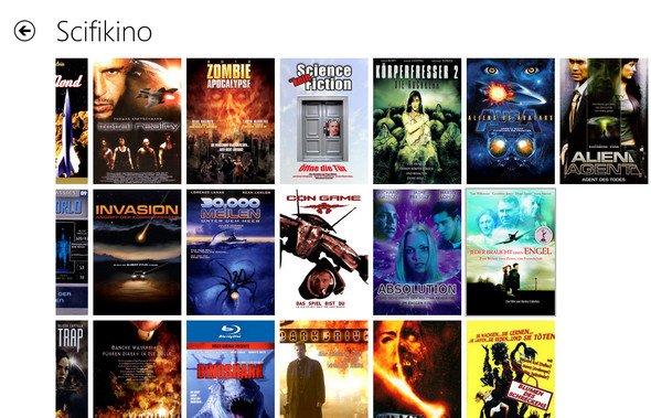 Windows 8 App: Netzkino