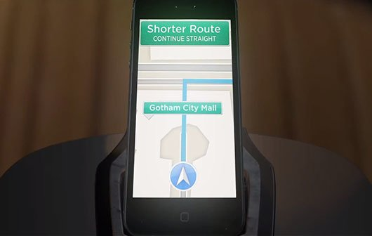 Video of the Day: Batman und die Apple Maps