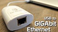 Ethernet im MacBook Air: Test Dr. Bott USB to Gigabit Ethernet Adapter (Update)
