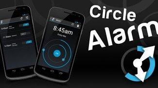Circle Alarm: Schicker Wecker im Holo-Style