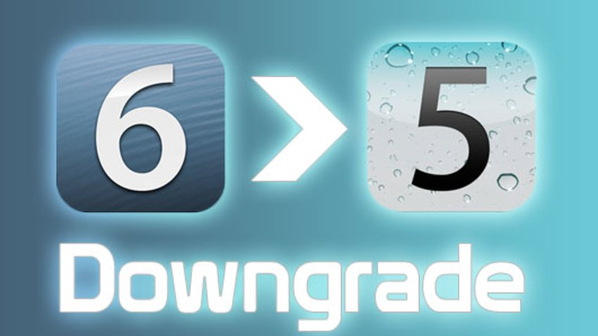 iOS 6 Downgrade
