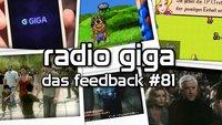 radio giga #81 - Das Feedback