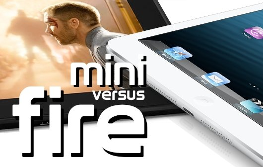 iPad mini vs. Amazon Kindle Fire HD: Vergleich