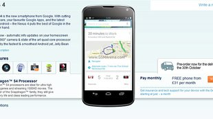 LG Nexus 4 bei Carphone Warehouse vorbestellbar
