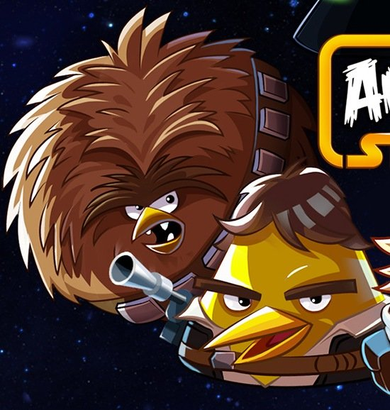 Han Solo und Chewie, Angry Birds