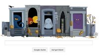 Happy Halloween! So funktioniert das interaktive Google-Doodle