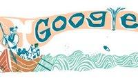 Herman Melville: Moby Dick feiert Geburtstag - die schönsten Google-Doodles auf dem Meer
